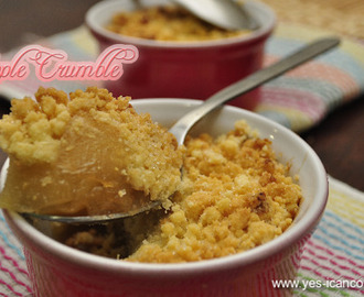 Apple Crumble - An Easy Dessert / Snack