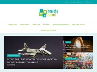 healthy travel blog