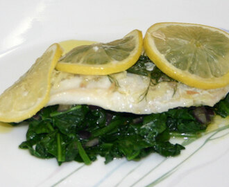 Cod Baked With Lemon And Dill – AIP/Paleo