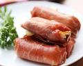 Food And Recipes: Prosciutto-Wrapped Mozzarella