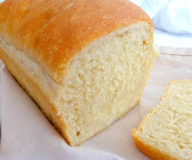 Simple White Loaf Bread (and Some Exciting News)