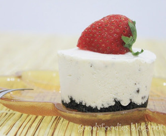 Recipe: No-bake Oreo cheesecake (cupcakes)
