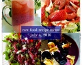 Raw Food Recipe Menu: July 4, 2016