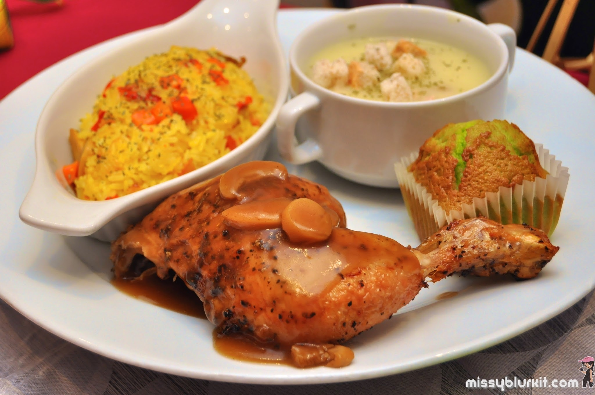 Royal Raya with Kenny Rogers Roasters