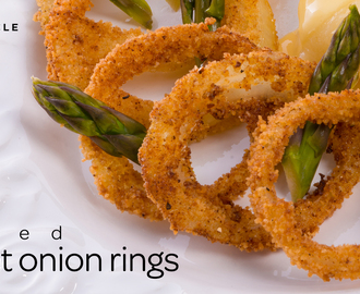 Baked Sweet Onion Rings