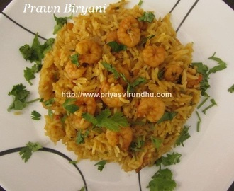 Prawn Biryani – Easy and Quick Prawn Biryani