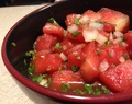 Watermelon Salsa Salad