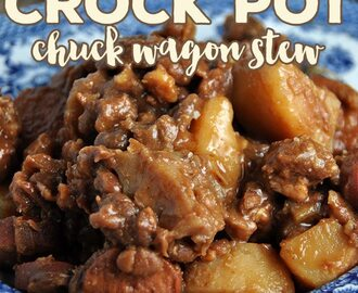 Crock Pot Chuck Wagon Stew