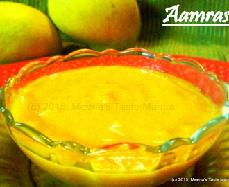 Aamras - Exotic freshly squeezed Mango!