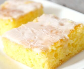 Jello Lemon Bars