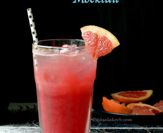 Sea Breeze Mocktail | November Sea Breeze | Seabreeze Drink | Summer Drinks | Mocktail Recipes
