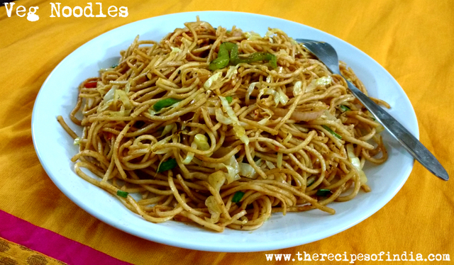 Easy Veg Noodles Recipe | How to Make Veg Noodles