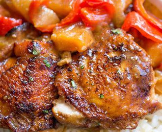 Slow Cooker Hawaiian Pineapple Chicken