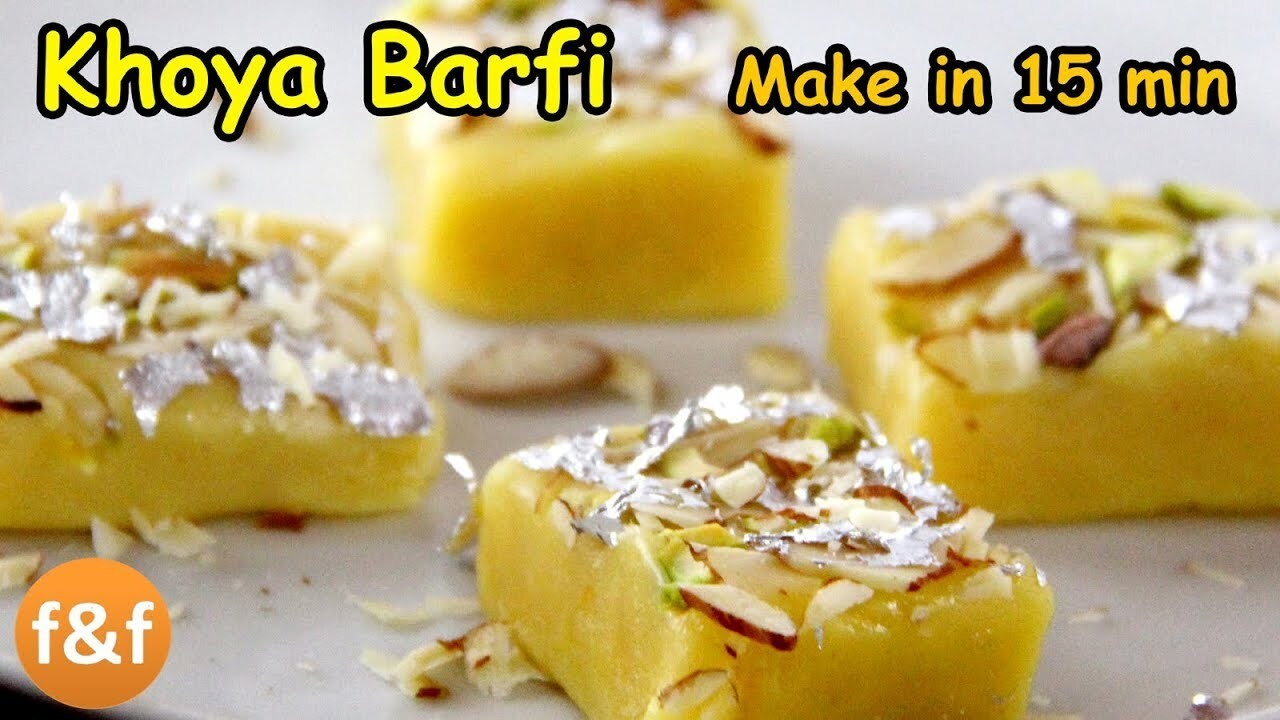 How to make Khoya Barfi | Mawa Barfi Recipe | Diwali Recipes