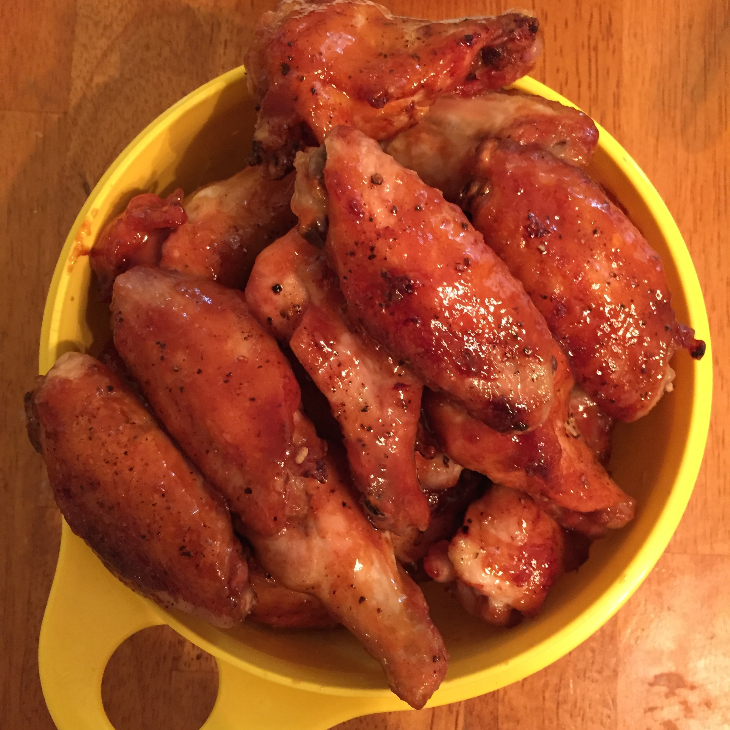 A Honey of a Wing Recipe – Honey Mustard Chicken Wings