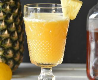 Tailgate Sipper/A Pineapple Bourbon Cocktail