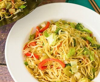 Caribbean Vegetable Lo Mein