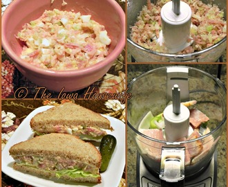 Grandma's Ham and Egg Salad Spread