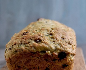 Wholewheat Zucchini Bread for #BreadBakers