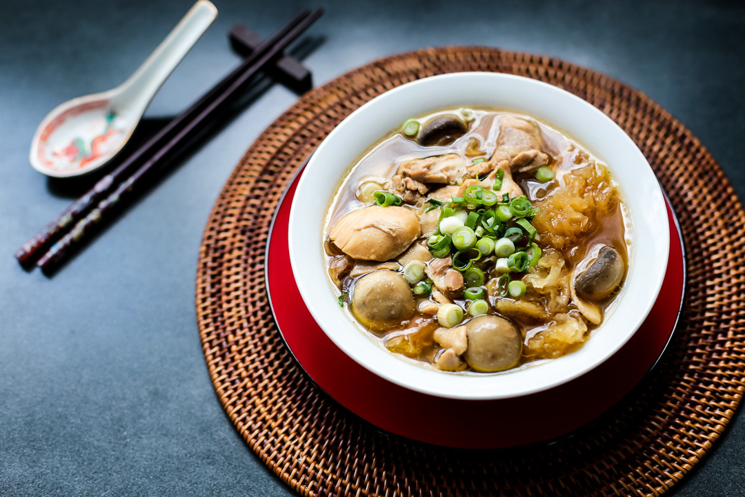 Chinese Herbal Chicken Soup