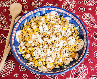 Not So Messy Mexican Street Corn