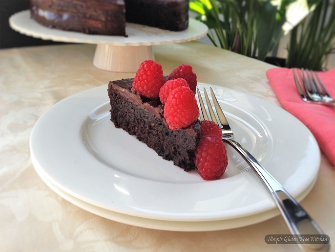 Flourless Chocolate cake and 5th Blogiversary!