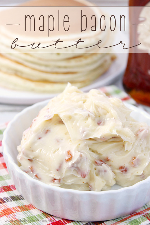 Maple Bacon Butter