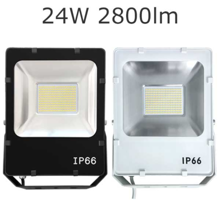 LED-strålkastare 24W 2800lm 50000h IP66