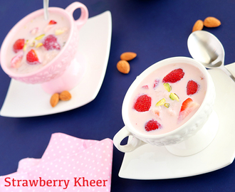 Strawberry Kheer