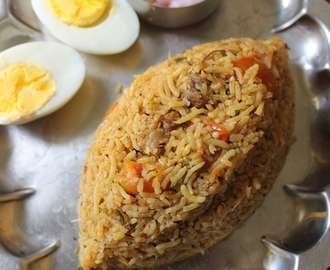 Pressure Cooker Mutton Biryani Recipe - VIDEO RECIPE