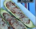 Italian Stuffed Zucchini (Low Carb)