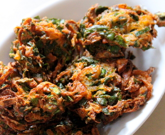 Palak Pakoda Recipe Crispy, How To Make Palak Pakora