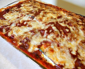 Grilled Eggplant and Zucchini Lasagna