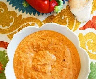 Opryland Hotel Cream Cheese and Roasted Pepper Dip