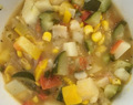 Zucchini, Tomato and Potato Soup
