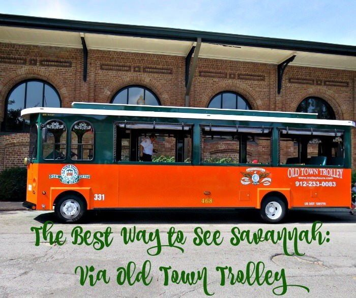 The Best Way to See Savannah: Old Town Trolley Tours