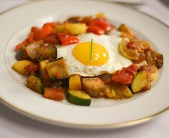 Remy's Ratatouille with Poached Eggs
