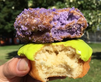 Beyond Delicious: Ube Donuts in Berkeley at Rainbow Donuts