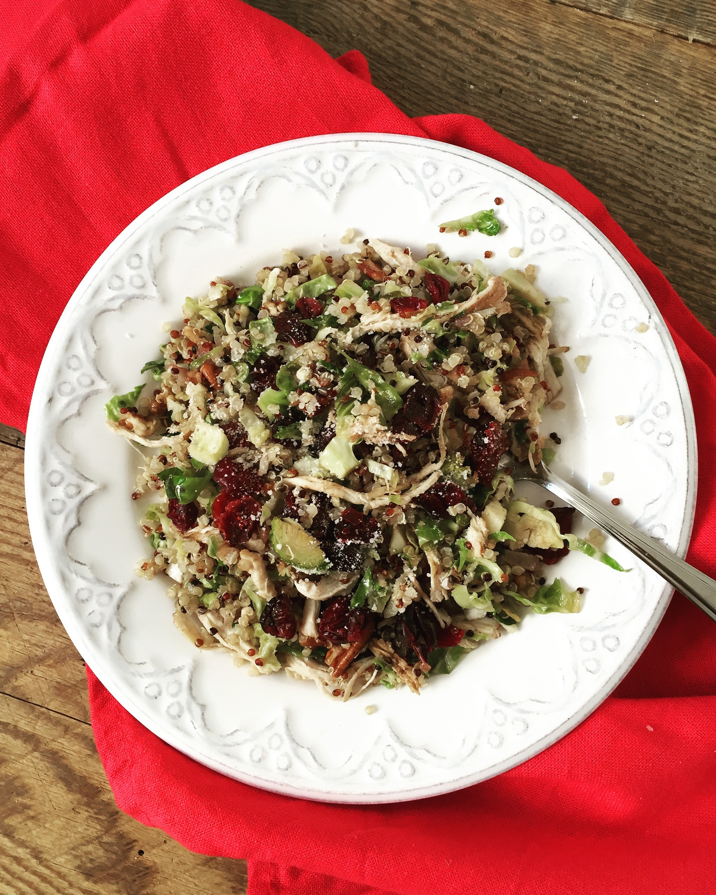 Don't be afraid… especially of this quinoa salad!