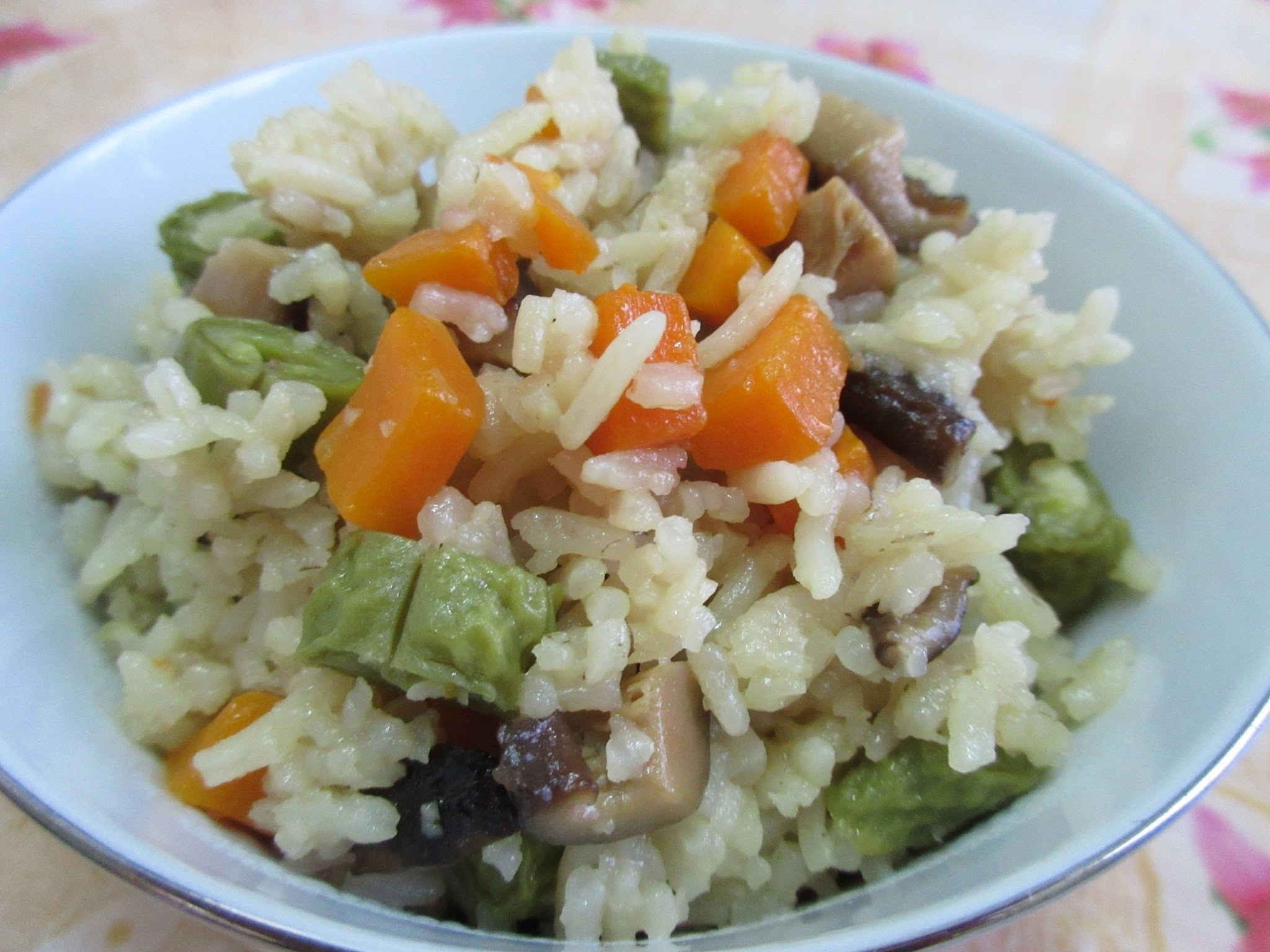 Savoury Vegetarian Rice 斋饭