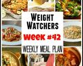 Weight Watchers Weekly Meal Plans, Week #42