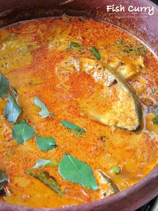 Kerala Fish Curry With Coconut Milk