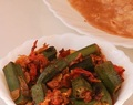 Bhindi Masala Recipe For Roti Chapati Paratha And Rice-How To Make Bhindi Masala Recipe