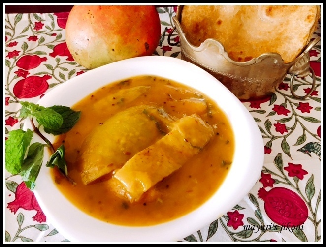 579. Keri nu Shaak (Mango Curry)