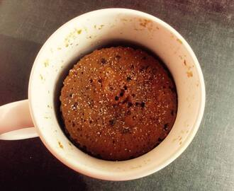 Mug Cake - A Power Breakfast made with Whole Wheat & Bournvita