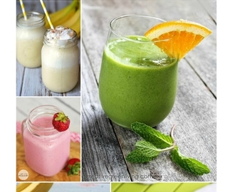33 Breakfast Smoothie Recipes to Sip On-The-Go