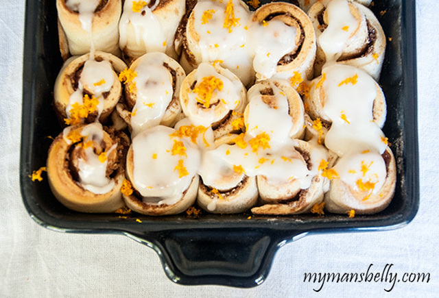 Easy Orange Cinnamon Rolls