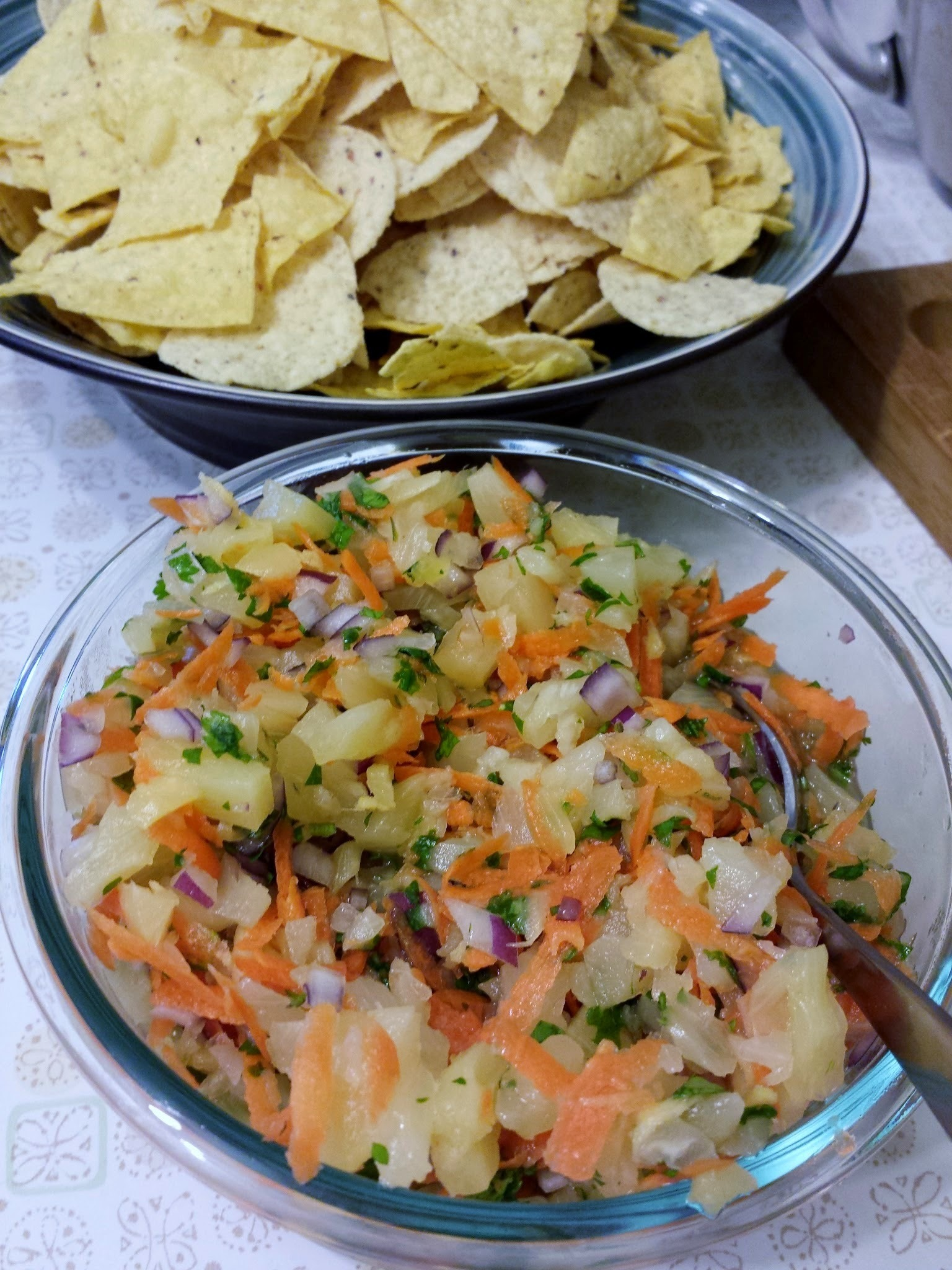 Ellie's Pineapple Salsa