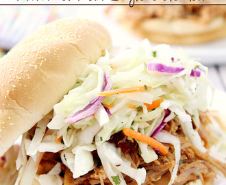 Chipotle Pulled Pork Sandwiches with Mexican-Style Coleslaw