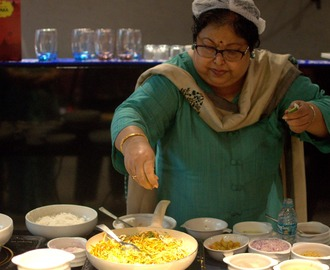 Chanda Dutt Cooks up a Burmese Meal at The Orient, New Town, Rajarhat